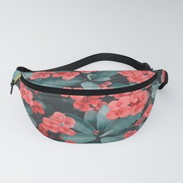Little Pink Poppies Fanny Pack