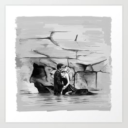 La Dolce Vita by Fellini Art Print