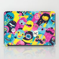 monsters iPad Cases featuring Monsters by Lienke Raben