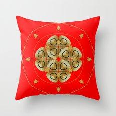 Circle Study No. 459 Throw Pillow