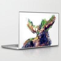 moose Laptop & iPad Skins featuring Moose by jbjart