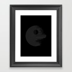 Minimalist Battlestation Framed Art Print