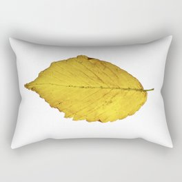 Leaf Isolated Rectangular Pillow