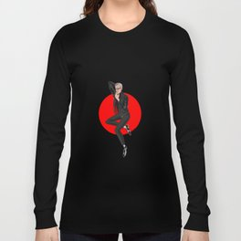 Jeff Goldblum pin up Long Sleeve T-shirt