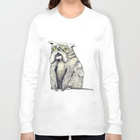 bulldog Long Sleeve T-shirts featuring Bulldog by EstherSepers