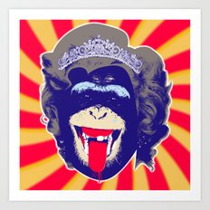 Queen Kong Art Print