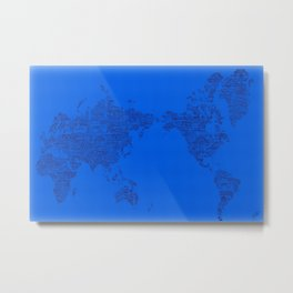 Where Will You Make Your Mark- Special Edition, A Metal Print
