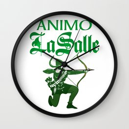 Animo La Salle Art Wall Clock