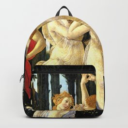 Sandro Botticelli Primavera The Three Graces Backpack