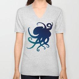 Indigo Mastermind ~ Octopus ~ Marine Life ~ (Copyright 2014) Unisex V-Neck