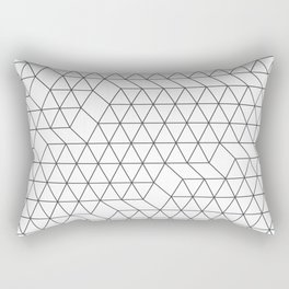 Cityscape Geo Rectangular Pillow