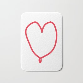 female love Bath Mat