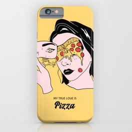 Pizza lover iPhone Case