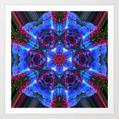 Aztec Mystic Art Print