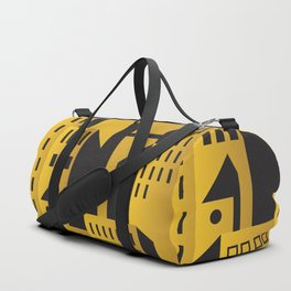Golden city art deco Duffle Bag