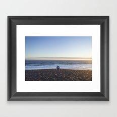 Sunset for Two Framed Art Print