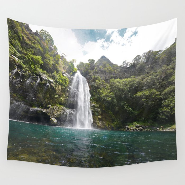 Chasing waterfalls Wall Tapestry