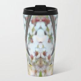 cedar waxwing - bokeh Travel Mug