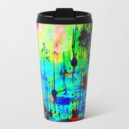 Waterlily Cat tails Travel Mug