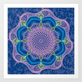 Blue Meridien Art Print