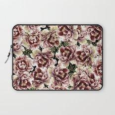 Vintage Flowers At Night #society6 Laptop Sleeve