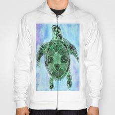 Tatoo Sea Turtle Hoody
