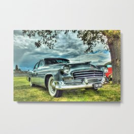 Classic Chrysler Saloon Car Metal Print