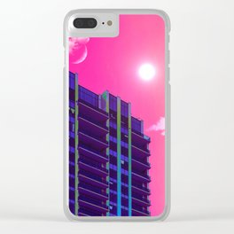 Skyrocket Clear iPhone Case