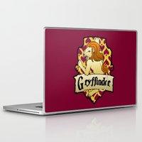 gryffindor Laptop & iPad Skins featuring Gryffindor Crest by AriesNamarie