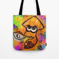 I've Got an Inkling - Orange on Black Tote Bag