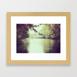 The Great Miami River Framed Art Print