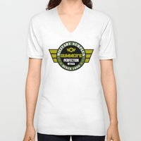 military V-neck T-shirts featuring Gummer's military surplus by Buby87