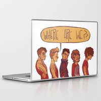 cargline Laptop & iPad Skins featuring where are we by cargline