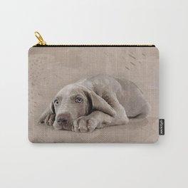 Weimaraner puppy Carry-All Pouch