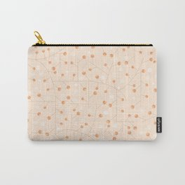 Branches with orange berries texture Carry-All Pouch