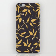 Gold Pattern iPhone & iPod Skin