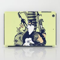 sandman iPad Cases featuring Ole Lukøje by Xenia Pirovskikh