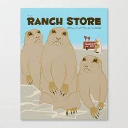 The Ranch Store Canvas Print