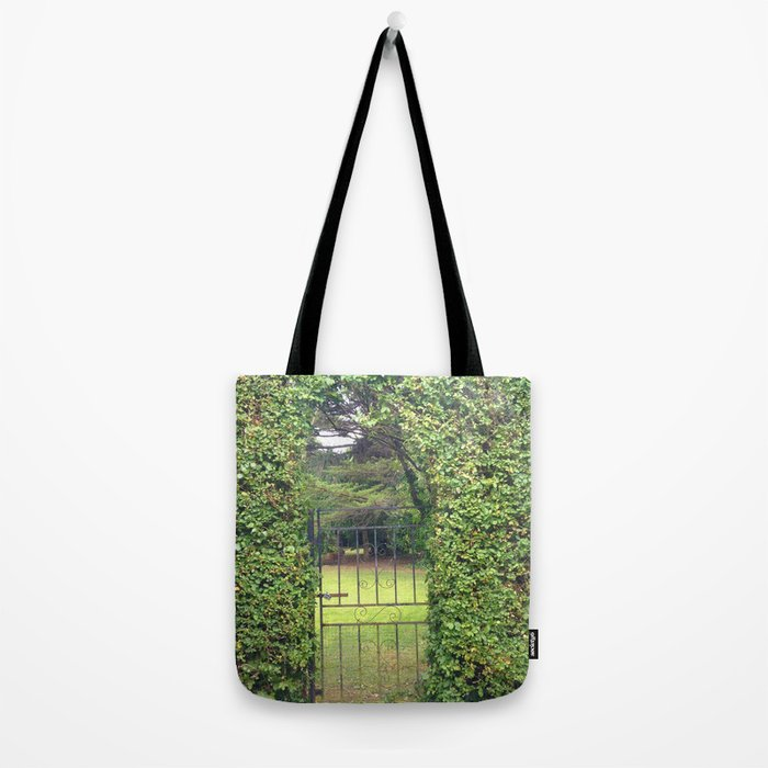 Garden Gate in Ireland Tote Bag