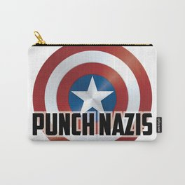 Punch Nazis Carry-All Pouch