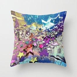 Star Light, Star Bright Throw Pillow