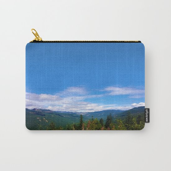 Northern Cascade Sky Carry-All Pouch