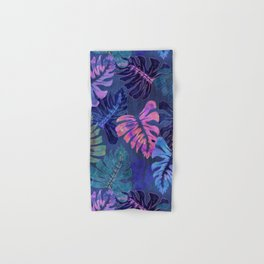 Phoenix Tropical Blue Hand & Bath Towel