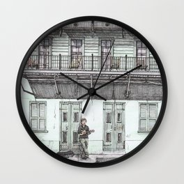 Nola Wall Clock