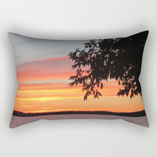 The Afterglow Rectangular Pillow
