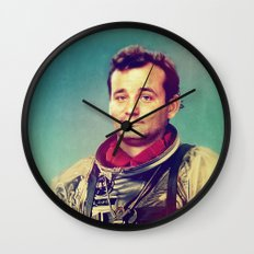 Space Murray Wall Clock