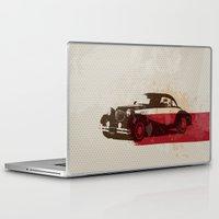 car Laptop & iPad Skins featuring car by Lyndi888