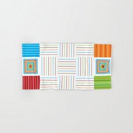 Fiesta Colors Pattern Hand & Bath Towel