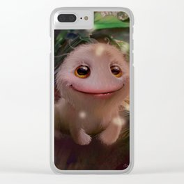 What a little monster Clear iPhone Case