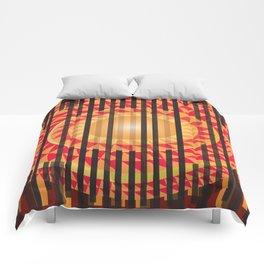 Hidden Sun Comforters